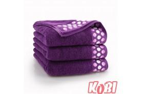 Ręczniki bawełniane ZEN ŚLIWKOWY
