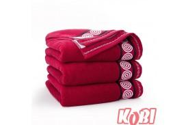 Ręczniki bawełniane RONDO BORDOWY