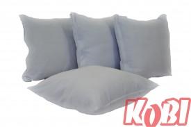 Poszewki na poduszki aksamit (odcienie białego)