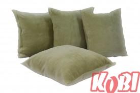 Poszewki na poduszki aksamit (oliwka)