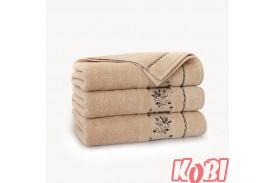 Ręczniki welurowe AZALIA BEŻOWY