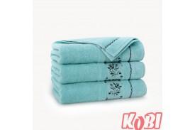 Ręczniki welurowe AZALIA WODNY