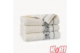Ręczniki welurowe AZALIA KREMOWY