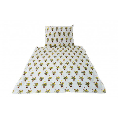 Pościel dziecięca 100% bawełna Zebra (D20)