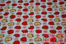 Pościel dziecięca 100% bawełna jabłuszka (D27)