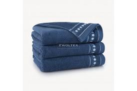 Ręczniki bawełniane Trio INDYGO