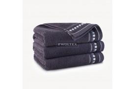 Ręczniki bawełniane Trio BAKŁAŻAN