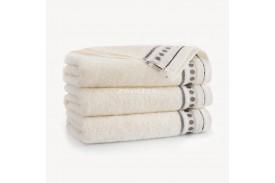Ręczniki bawełniane Trio ECRU