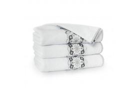 Ręcznik bawełniany Victoria Biały