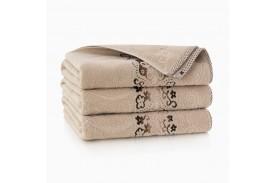 Ręcznik bawełniany Victoria Beżowy