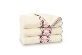 Ręcznik bawełniany Victoria Ecru