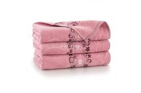 Ręcznik bawełniany Victoria Pudrowy róż