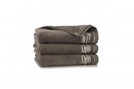 Ręcznik z bawełny egipskiej GRAFIK taupe ZWOLTEX