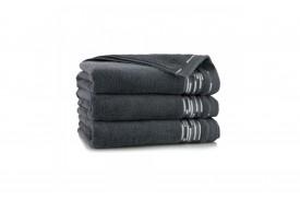 Ręcznik z bawełny egipskiej GRAFIK GRAFITOWY ZWOLTEX