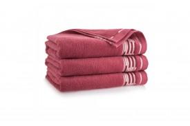 Ręcznik z bawełny egipskiej GRAFIK karnelian ZWOLTEX