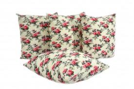 Poszewki na poduszki kora róża (0855) KOBI