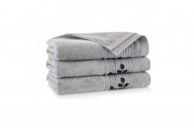 Ręcznik z bawełny egipskiej SONATA bazalt ZWOLTEX