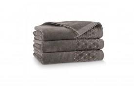 Ręcznik welurowy z bawełny egipskiej OSCAR sezam ZWOLTEX