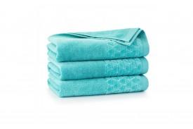 Ręcznik welurowy z bawełny egipskiej OSCAR patyna ZWOLTEX