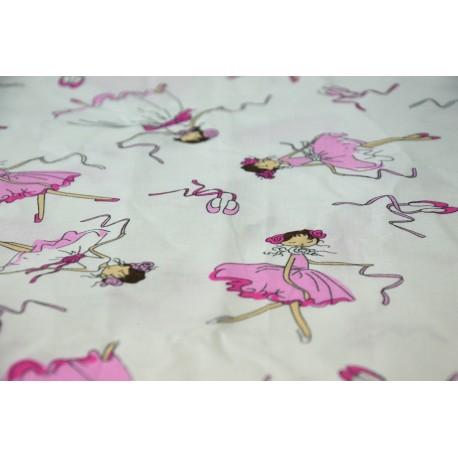 Pościel dziecięca 100% bawełna Baletnica (D28)