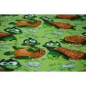 Pościel dziecięca 100% bawełna żółwik (D33)
