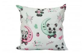Poszewka bawełniana sweet pandas (D34) KOBI