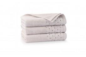Ręcznik welurowy z bawełny egipskiej OSCAR kreta ZWOLTEX