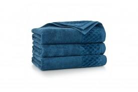 Ręcznik welurowy z bawełny egipskiej CARLO AG tanzanit ZWOLTEX