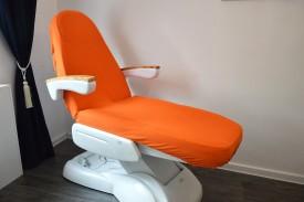 Prześcieradło na fotel kosmetyczny frotte ceglaty (25) KOBI