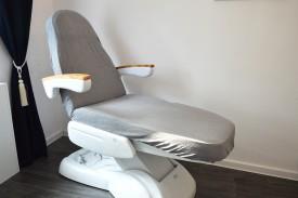 Prześcieradło na fotel kosmetyczny frotte szary (34) KOBI