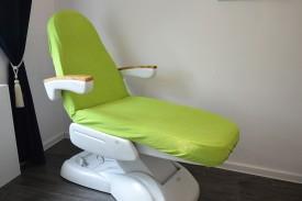 Prześcieradło na fotel kosmetyczny frotte limonka (35) KOBI