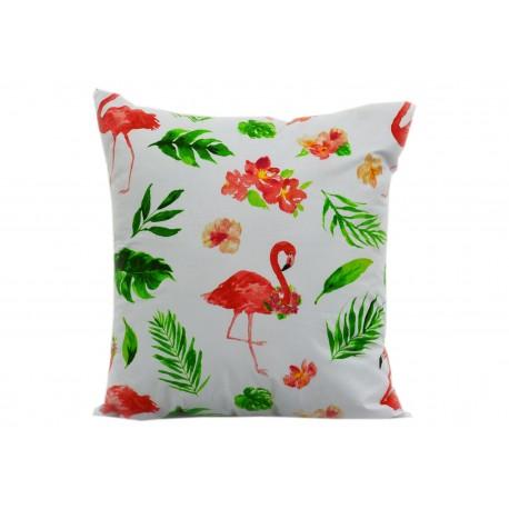 Poszewka bawełniana flamingi (2141) KOBI