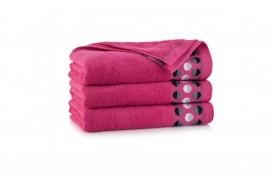 Ręcznik bawełniany ZEN fuksja zwoltex