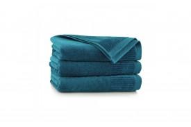 Ręcznik z bawełny egipskiej LISBONA emerald ZWOLTEX