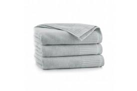 Ręcznik z bawełny egipskiej LISBONA stalowy ZWOLTEX