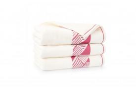 Ręcznik z bawełny egipskiej ENZO kremowy ZWOLTEX