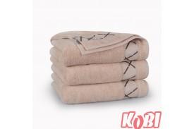 Ręczniki bawełniane FOKUS BEŻOWY