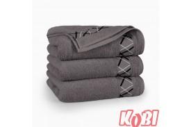Ręczniki bawełniane FOKUS GRAFITOWY