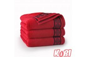 Ręczniki bawełniane RONDO CZERWONY