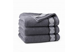 Ręczniki bawełniane RONDO GRAFITOWY
