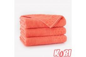 Ręczniki welurowe PASTELA MORELOWY